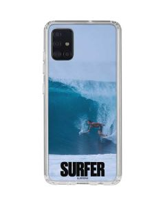 SURFER Magazine Riding A Wave Galaxy A51 Clear Case