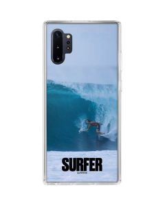 SURFER Magazine Riding A Wave Galaxy Note 10 Plus Clear Case