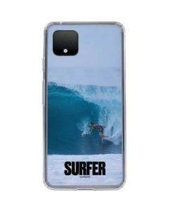 SURFER Magazine Riding A Wave Google Pixel 4 Clear Case