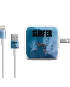 SURFER Magazine Riding A Wave iPad Charger (10W USB) Skin