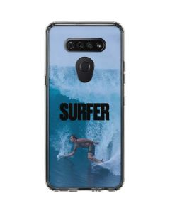 SURFER Magazine Riding A Wave LG K51/Q51 Clear Case