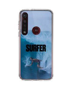SURFER Magazine Riding A Wave Moto G8 Plus Clear Case
