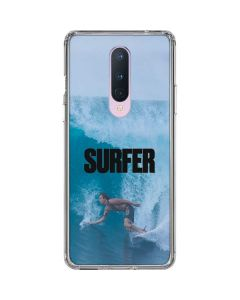 SURFER Magazine Riding A Wave OnePlus 8 Clear Case