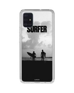 SURFER Magazine Silhouettes Galaxy A51 Clear Case