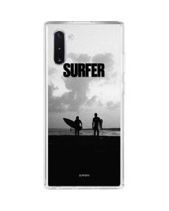 SURFER Magazine Silhouettes Galaxy Note 10 Clear Case