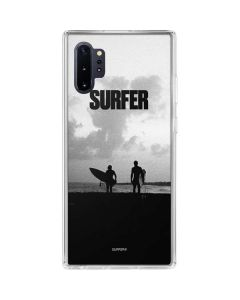 SURFER Magazine Silhouettes Galaxy Note 10 Plus Clear Case
