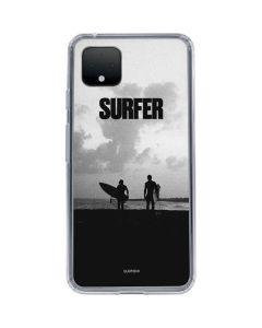 SURFER Magazine Silhouettes Google Pixel 4 Clear Case