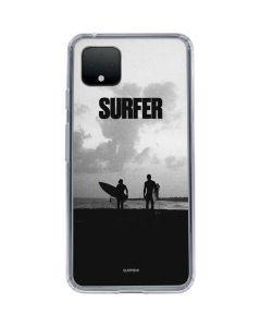 SURFER Magazine Silhouettes Google Pixel 4 XL Clear Case