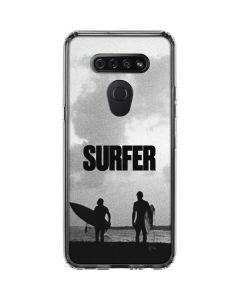 SURFER Magazine Silhouettes LG K51/Q51 Clear Case
