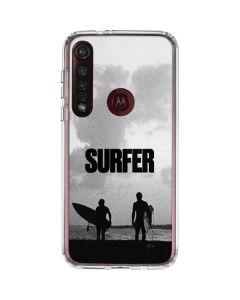 SURFER Magazine Silhouettes Moto G8 Plus Clear Case