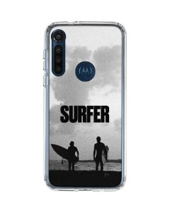 SURFER Magazine Silhouettes Moto G8 Power Clear Case