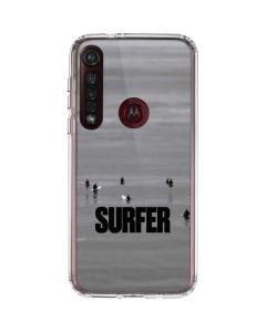 SURFER Magazine Stillness Moto G8 Plus Clear Case
