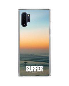 SURFER Magazine Sunrise Galaxy Note 10 Plus Clear Case