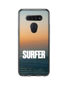 SURFER Magazine Sunrise LG K51/Q51 Clear Case