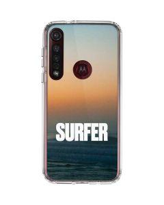 SURFER Magazine Sunrise Moto G8 Plus Clear Case
