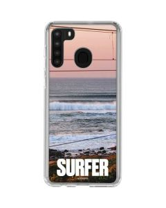 SURFER Magazine Sunset Galaxy A21 Clear Case