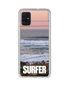 SURFER Magazine Sunset Galaxy A51 Clear Case