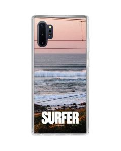SURFER Magazine Sunset Galaxy Note 10 Plus Clear Case