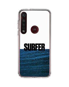 SURFER Magazine Underwater Moto G8 Plus Clear Case