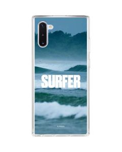 SURFER Magazine Waves Galaxy Note 10 Clear Case