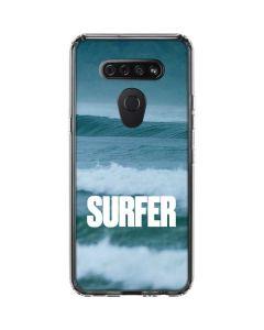 SURFER Magazine Waves LG K51/Q51 Clear Case