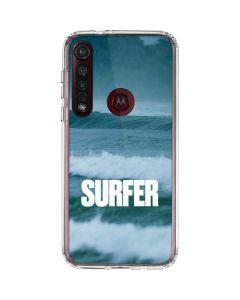 SURFER Magazine Waves Moto G8 Plus Clear Case