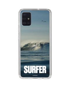 SURFER Waiting On A Wave Galaxy A51 Clear Case