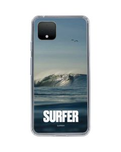 SURFER Waiting On A Wave Google Pixel 4 Clear Case