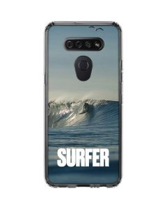 SURFER Waiting On A Wave LG K51/Q51 Clear Case