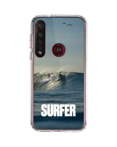 SURFER Waiting On A Wave Moto G8 Plus Clear Case