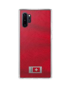 Switzerland Soccer Flag Galaxy Note 10 Plus Clear Case