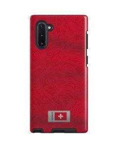 Switzerland Soccer Flag Galaxy Note 10 Pro Case