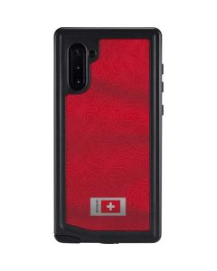 Switzerland Soccer Flag Galaxy Note 10 Waterproof Case