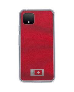 Switzerland Soccer Flag Google Pixel 4 XL Clear Case