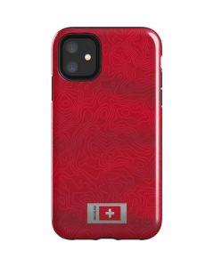 Switzerland Soccer Flag iPhone 11 Impact Case