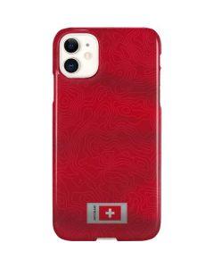 Switzerland Soccer Flag iPhone 11 Lite Case