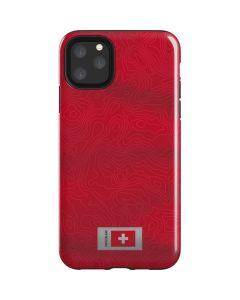 Switzerland Soccer Flag iPhone 11 Pro Max Impact Case
