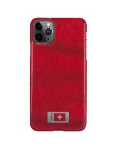 Switzerland Soccer Flag iPhone 11 Pro Max Lite Case