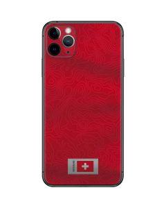 Switzerland Soccer Flag iPhone 11 Pro Max Skin