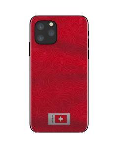 Switzerland Soccer Flag iPhone 11 Pro Skin