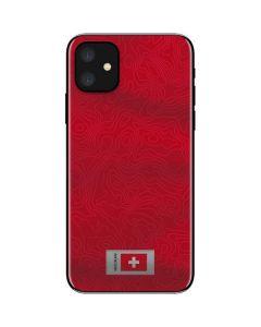 Switzerland Soccer Flag iPhone 11 Skin
