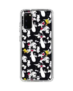 Sylvester and Tweety Super Sized Galaxy S20 Clear Case