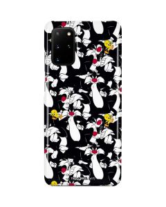 Sylvester and Tweety Super Sized Galaxy S20 Plus Lite Case