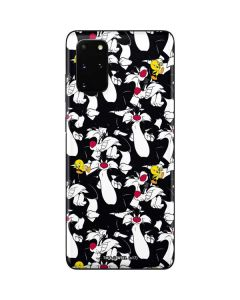 Sylvester and Tweety Super Sized Galaxy S20 Plus Skin
