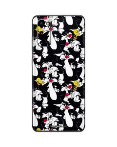 Sylvester and Tweety Super Sized Galaxy S20 Skin