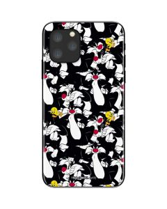 Sylvester and Tweety Super Sized iPhone 11 Pro Skin