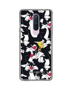 Sylvester and Tweety Super Sized OnePlus 8 Clear Case