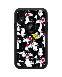 Sylvester and Tweety Super Sized Otterbox Defender iPhone Skin