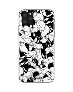 Sylvester Super Sized Pattern iPhone 11 Pro Max Skin