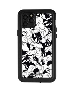Sylvester Super Sized Pattern iPhone 11 Pro Max Waterproof Case